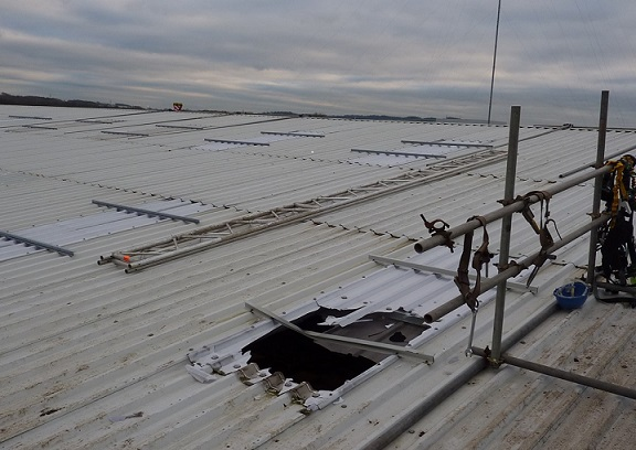 Preventing Falls Through Skylights And Rooflights Kee