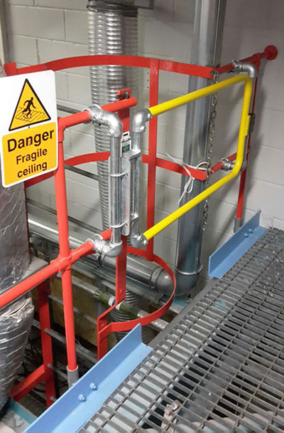 Safety Gates Or Chains For Safe Access Kee Safety Group